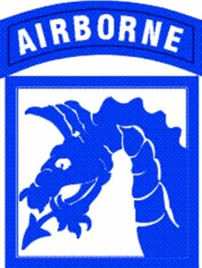 18th Airbone Corp Patch
